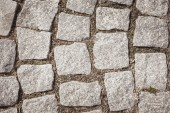 full frame image of path from paving stone background