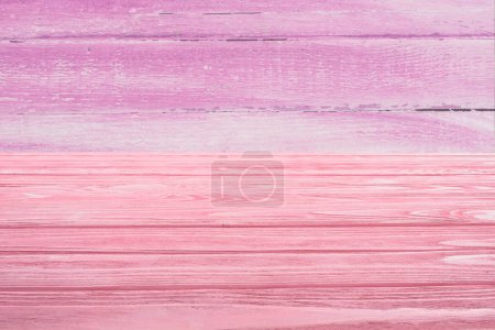 template of pink wooden floor with pink planks on background