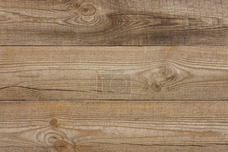 Photo for Full frame image of brown wooden background - Royalty Free Image