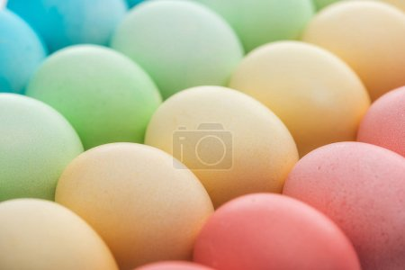 Photo for Close up of traditional pastel easter eggs - Royalty Free Image