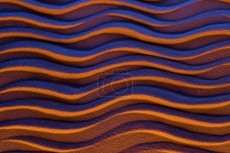 top view of abstract background with lines and color filter