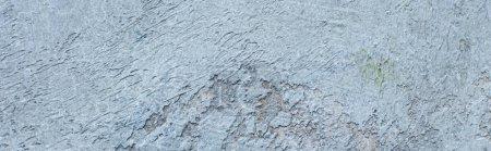Photo pour Rugueux abstrait gris béton texture de fond, panoramique - image libre de droit