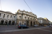 The Teatro alla Scala, an opera house inaugurated on 3 August 1778. The best singers and artists from around the world have appeared at it during the past 200 years