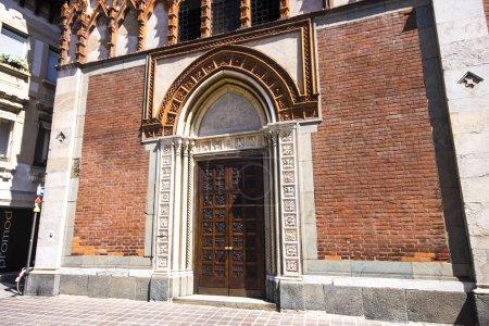 The Chiesa di Santa Maria in Strada, a church in Monza, Italy