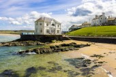 The Arcadia, a historic cafe and ballroom in the coast of Portrush, a small seaside resort town in County Antrim, Northern Ireland, United Kingdom