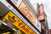 Washington, D.C. Ben's Chili Bowl, a major landmark restaurant founded in 1958 located at 1213 U Street in the Shaw neighborhood. Known locally for its chili dogs, half-smokes, and milkshakes