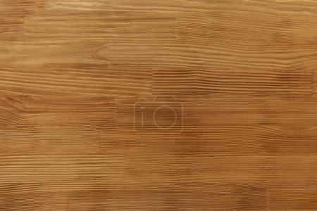 Photo for Close-up view of horizontal light brown wooden textured background - Royalty Free Image