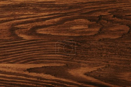 close-up view of dark brown wooden background