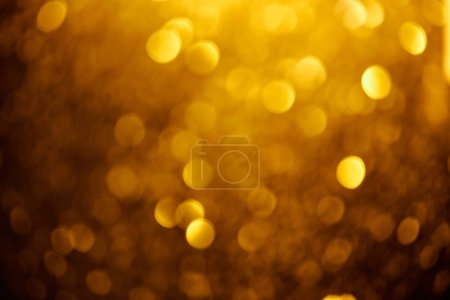 Photo for Abstract blurred golden background for celebration - Royalty Free Image