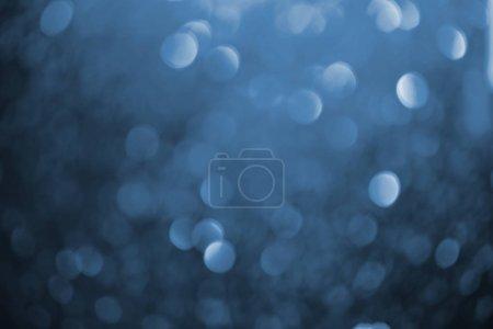 Photo pour Texture abstraite à paillettes bleu foncé brillant - image libre de droit