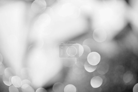 silver shiny bokeh background for celebration