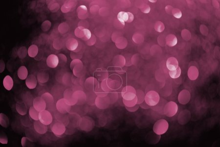 Photo for Abstract background with blurred pink glowing decor - Royalty Free Image
