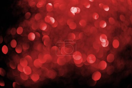 Photo for Abstract background with blurred red glowing decor - Royalty Free Image