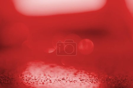 abstract blurred red festive background