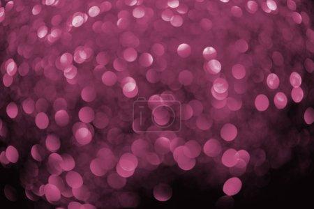 Photo pour Abstrait brillant fond rose bokeh - image libre de droit