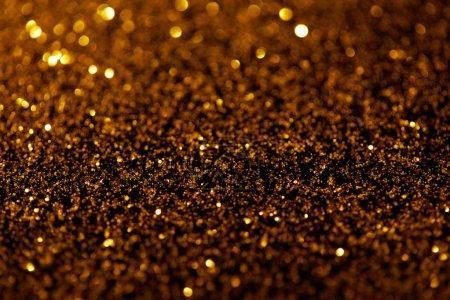 abstract dark golden glitter texture