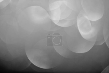 close up of abstract bokeh silver background