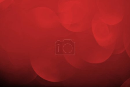 close up of abstract bokeh red background