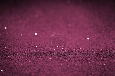 beautiful holiday background with pink glitter