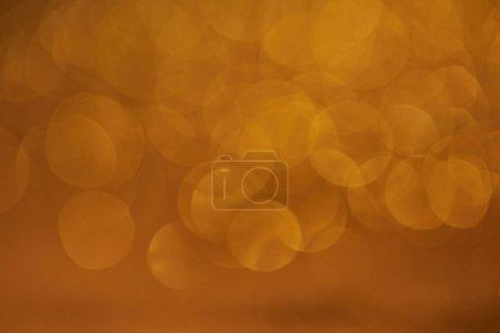 golden glittering bokeh christmas background