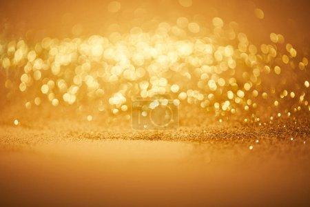 Foto de Fondo de Navidad de bokeh con brillo dorado - Imagen libre de derechos