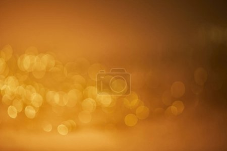 beautiful golden blurred christmas background