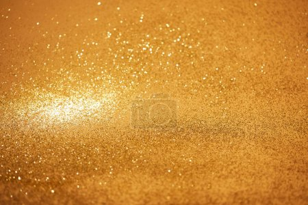 golden christmas background with shiny glitter
