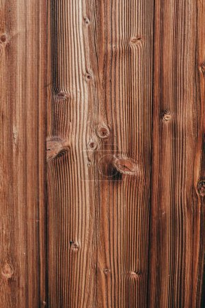 close-up shot of brown wooden planks for background