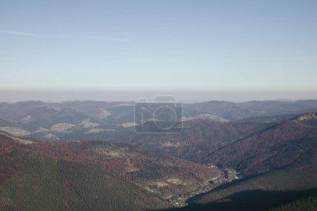 scenic mountains landscape, Carpathians, Ukraine