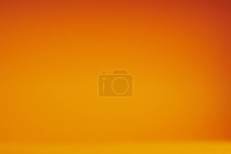 full frame view of empty bright orange abstract background
