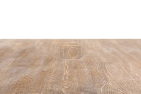 brown wooden textured background on white
