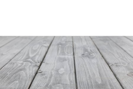 grey striped wooden surface on white