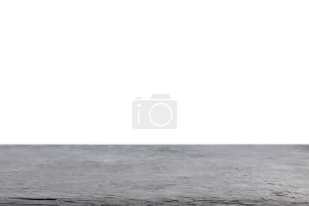 grey rustic wooden background on white