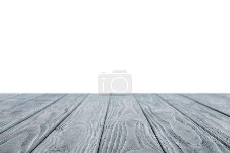 Photo pour Matériel en bois gris rayé blanc - image libre de droit