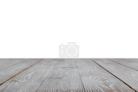 grey striped rustic wooden surface on white