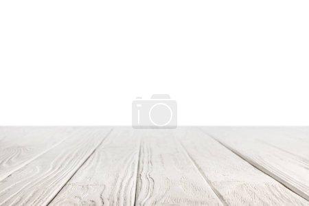 fond en bois rayé gris clair sur fond blanc