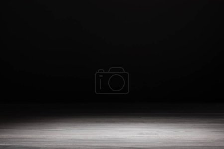 light grey striped wooden textured background on black