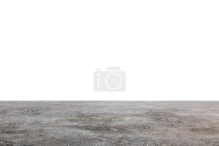 Photo pour Fond gris foncé shabby sur blanc - image libre de droit