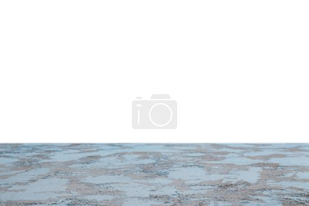 Photo for Blue shabby textured background on white - Royalty Free Image