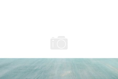 light green striped wooden background on white