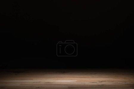 Foto de Fondo marrón de madera rayada en negro - Imagen libre de derechos