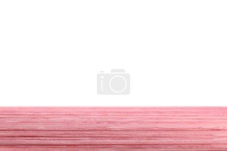 Foto de Fondo madera rústico rosa sobre blanco - Imagen libre de derechos