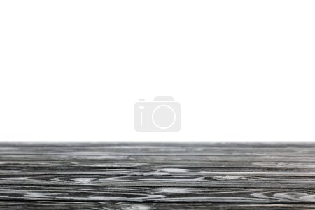 striped wooden textured background on white