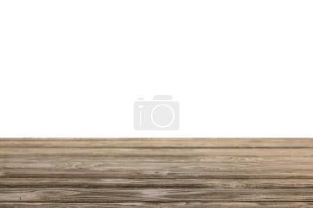 brown striped wooden surface on white