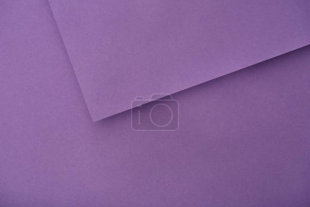 Photo for Top view of violet paper sheets with copy space - Royalty Free Image