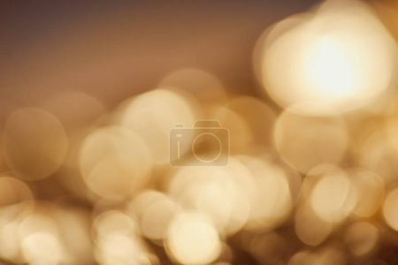 bright blurred sparkling lights with dark background