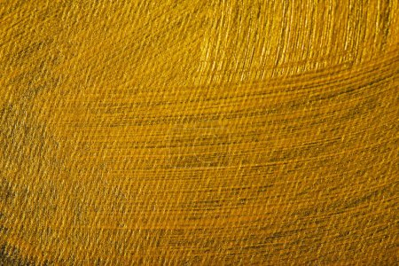 Photo for Dark canvas drawn of different golden brushstrokes - Royalty Free Image
