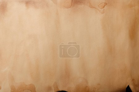 Photo for Top view of old textured parchment paper - Royalty Free Image