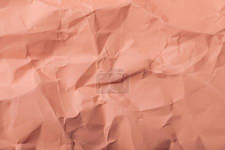 Photo pour Corail blanc page froissé avec espace copie - image libre de droit