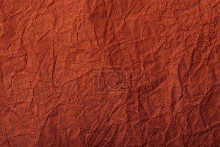 Foto de Rojo en blanco arrugado página con espacio de copia - Imagen libre de derechos